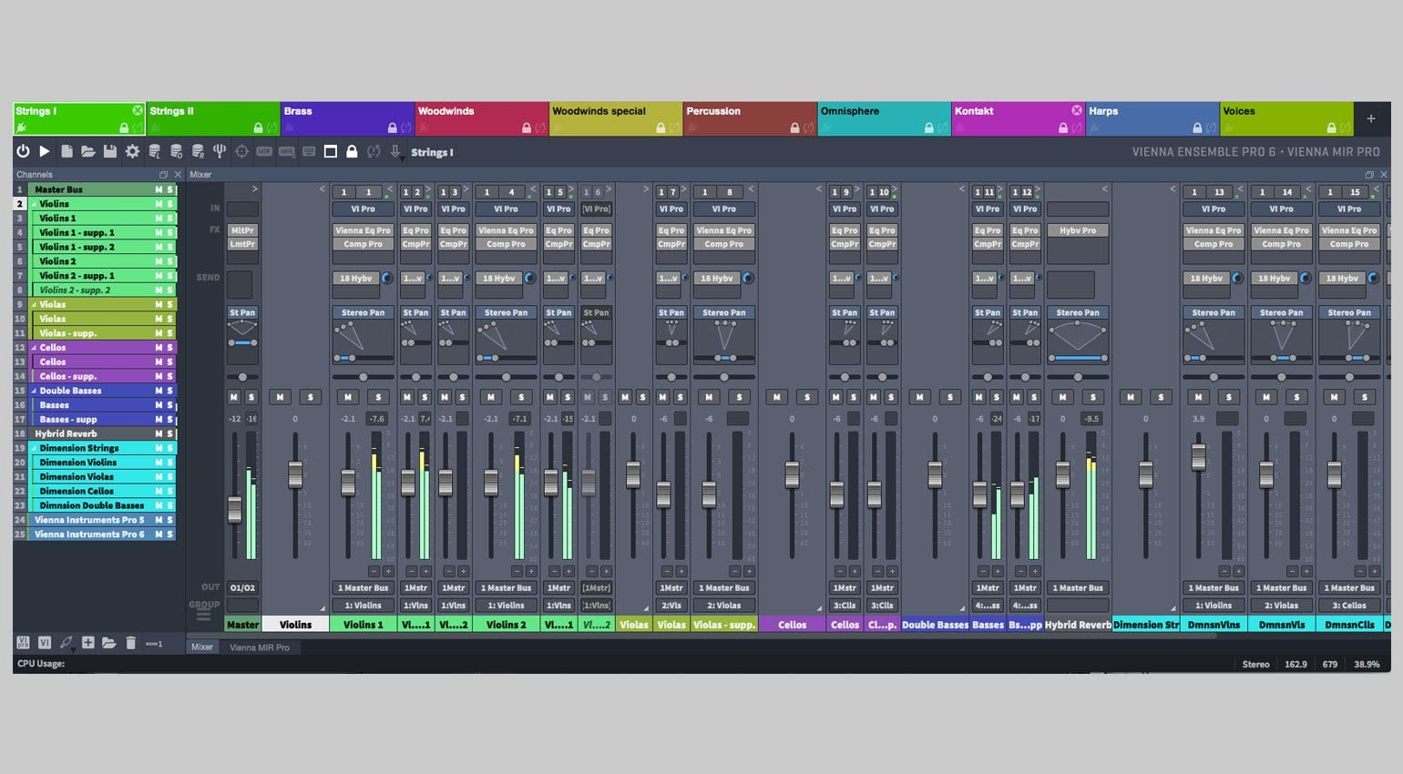 Vienna Ensemble Pro 6 Released And Reworked Gearnewscom