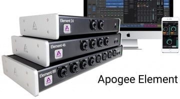 Apogee Element Thunderbolt Interfaces