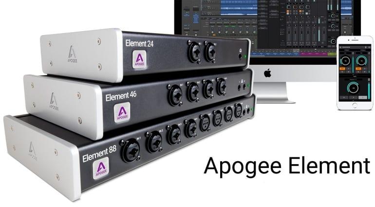 Apogee Element Thunderbolt Interfaces
