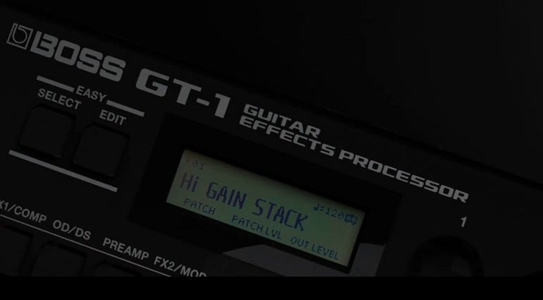 Boss GT-1 Multi-FX peda;