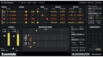 Eventide Quadravox Plug-in
