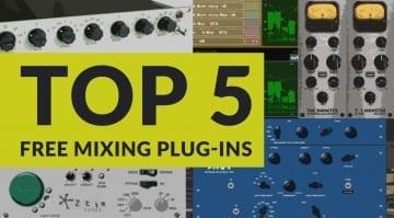 Top5 Free Mixing Plugins