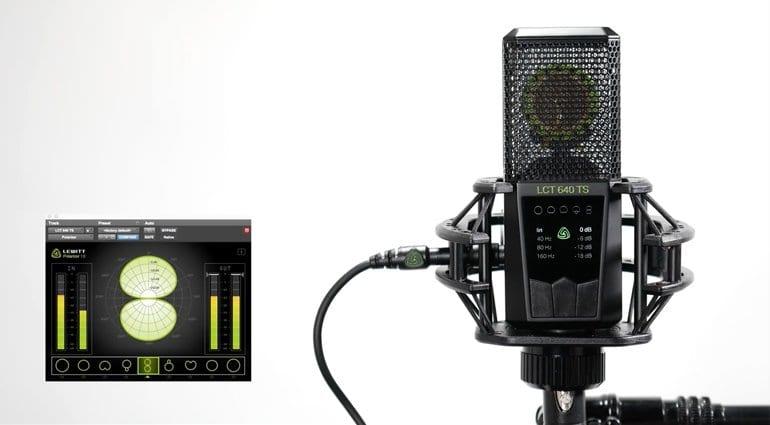 Lewitt LCT 640 TS Multi-Pattern Studio Condenser Microphone