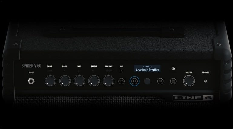 Line 6 Spider V Amp Range