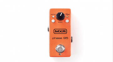 MXR 95 Mini Phaser 90 46 orange Script block
