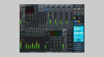 RME TotalMix FX 1.32 Screenshot