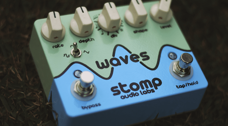 Stomp Audio Labs Waves tremolo pedal