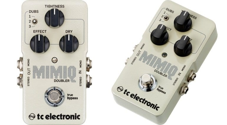 TC Mimiq Doubler effect pedal.