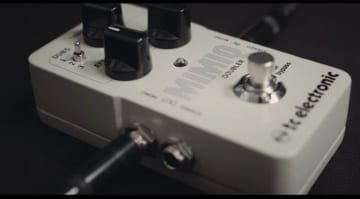 TC Mimiq Doubler effect pedal. Double tracking in a box