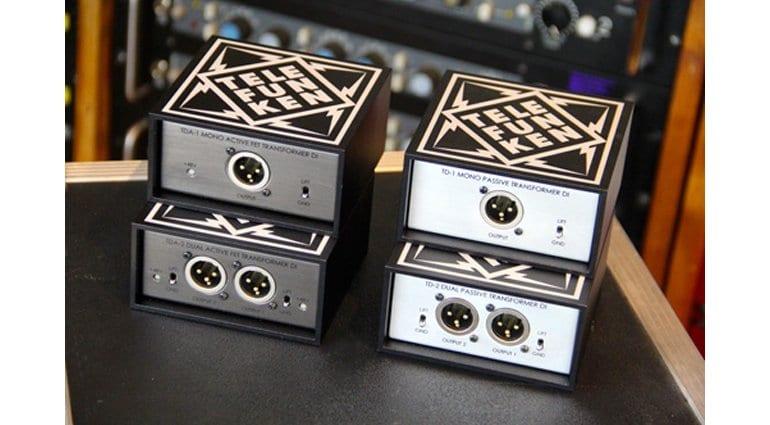 Telefunken DI boxes