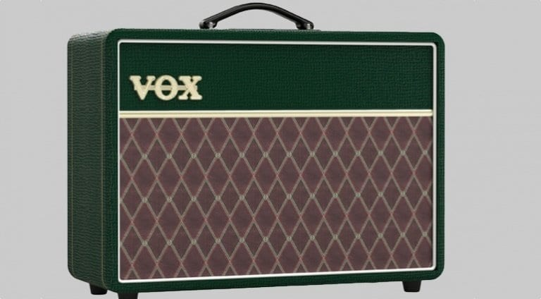 Vox AC10 British Racing Green Tolex Limited Edition amp