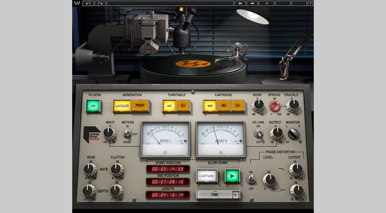 Waves Abbey Road Vinyl Plug-in