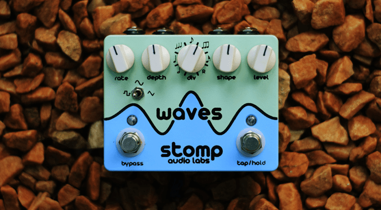 Stomp Audio Labs Waves tremolo pedal