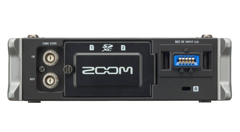 Zoom F4 Rear
