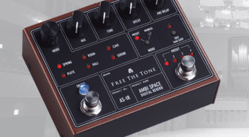 reverb pedal Free The Tone AMBI SPACE AS-1R