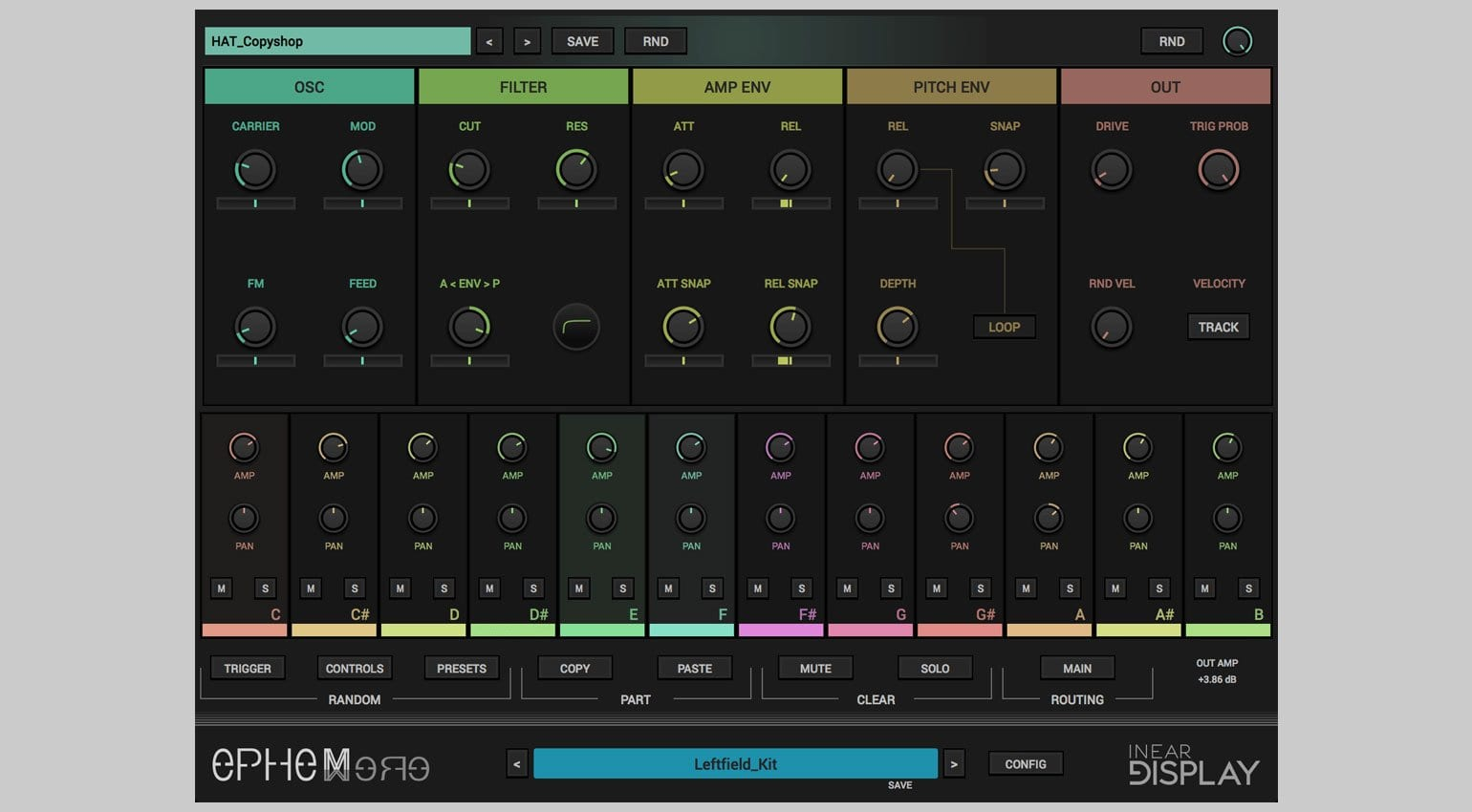Ruismaker FM percussion synth for iOS released by Bram Bos