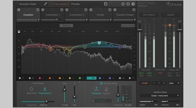 iZotope Neutron - certainly not auto-mixing