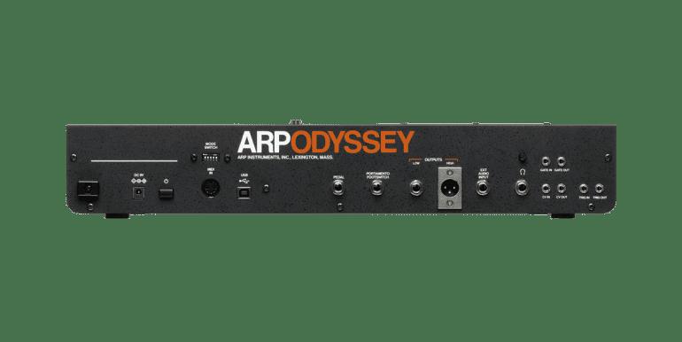 Korg Arp Odyssey Module Rev3 rear