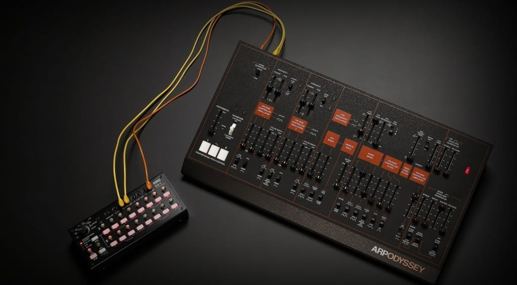 Korg Arp Odyssey Module with SQ-1 sequencer