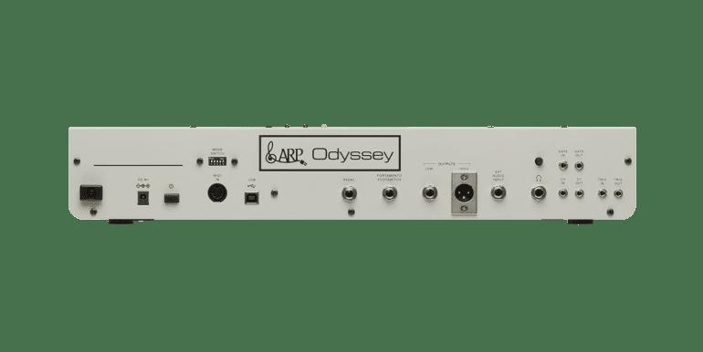 Korg Arp Odyssey Module Rev1 rear