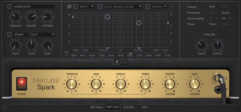 Spark Marshall VST AAX AU Mac PC Mercuriall Audio Software -Spark