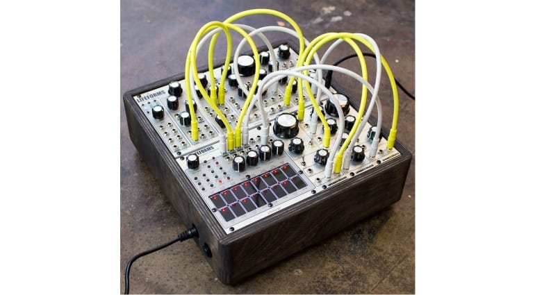Lifeforms Percussion Sequencer with other modules