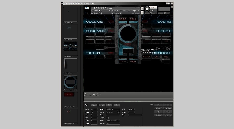 Build Kontakt Interfaces With Rigid Audios Kontakt Gui Maker