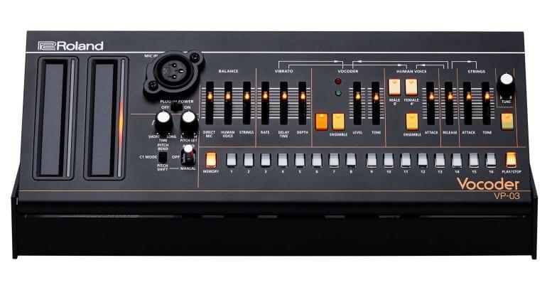 Roland DK-01 with VP-03 tilted