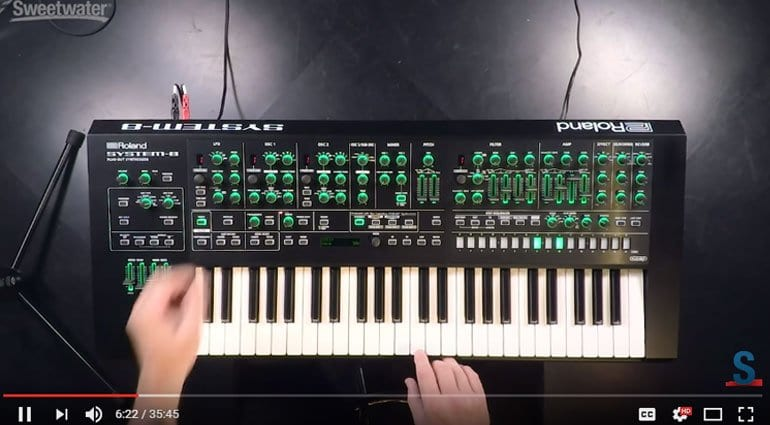 Roland System-8 Sweetwater Youtube