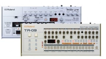 Roland Boutique TR-09 and TB-03