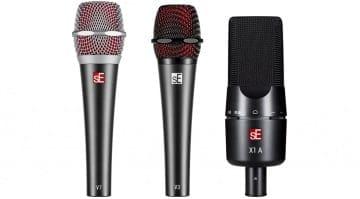 sE Electronics V Series and X1 A