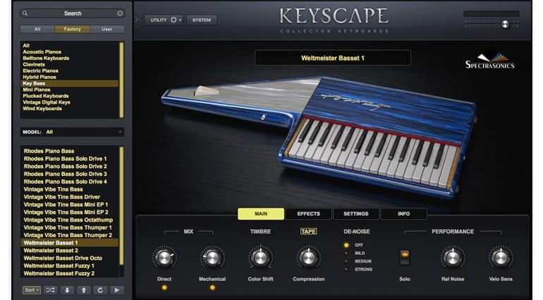 Spectrasonics Keyscape Basset 1