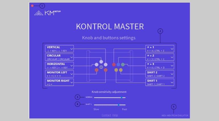 Kontrol Master software