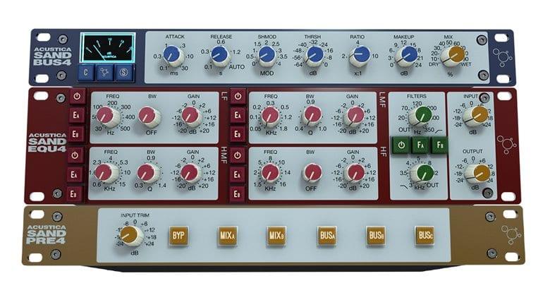 Acustica Audio SAND FAB4 Individual Plugs