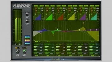 McDSP AE600 Active EQ Plug-in