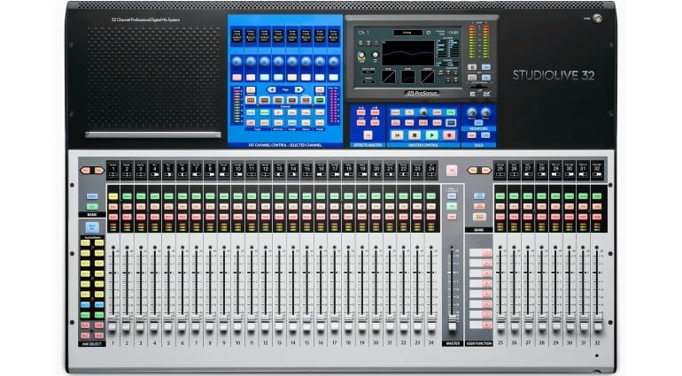 PreSonus StudioLive 32 Top View