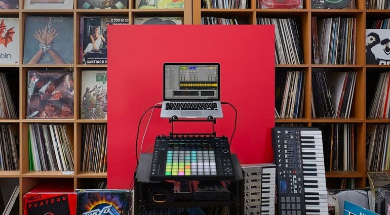 Ableton Live 9.7 with Push