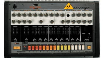 Behringer Analogue Drum Machine Mockup