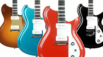 Rivolta Guitars new Combinata Dennis Fano Eastwood guitars