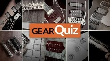 GearQuiz 2016 Guitars