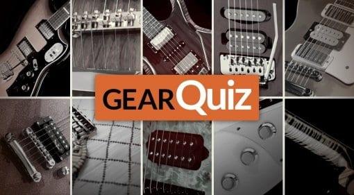 GearQuiz 2016 Guitars