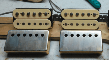 Geppetto Guitars Pickups Camelot PAF Humbuckers