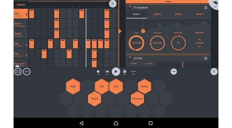 Image Line FL Studio Mobile drum programming