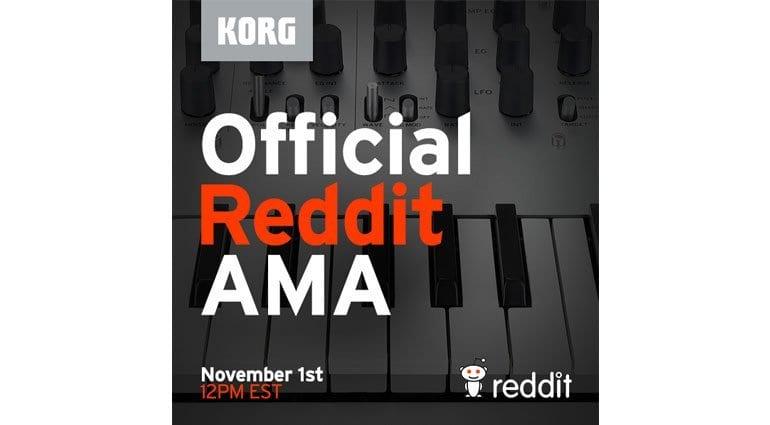 Korg Reddit AMA