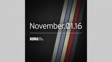 Korg November 1st tease
