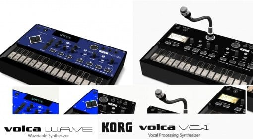 Korg Volca VC-1 and Wave