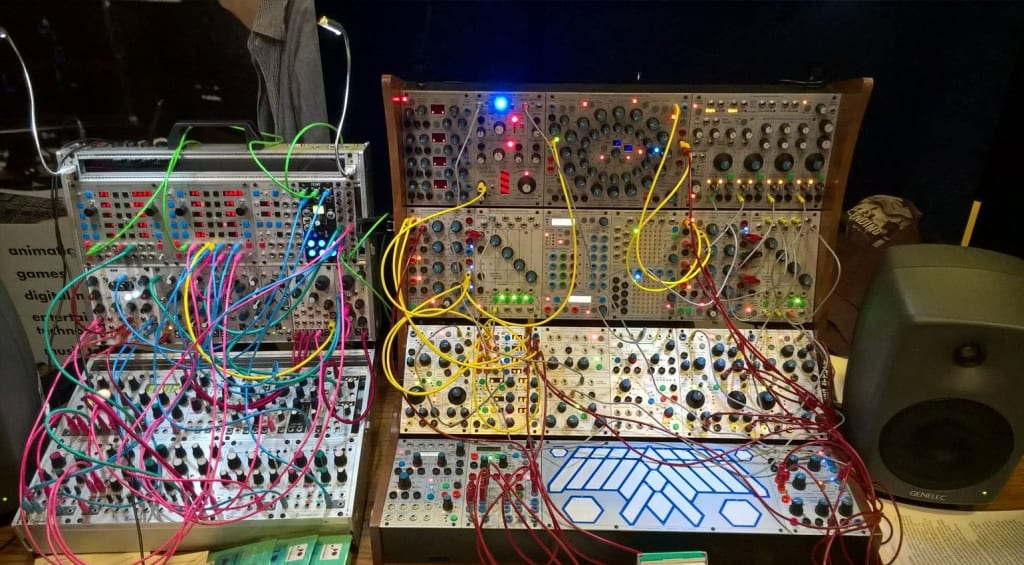 Portsmouth University Buchla system