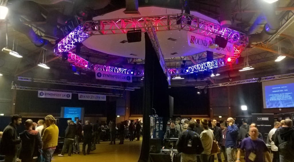 SynthFest main hall