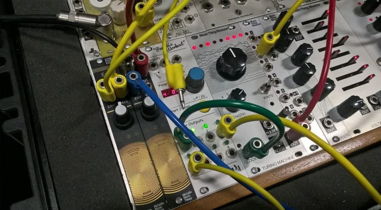 Music Thing Modular Turing Machine that you can build from a kit