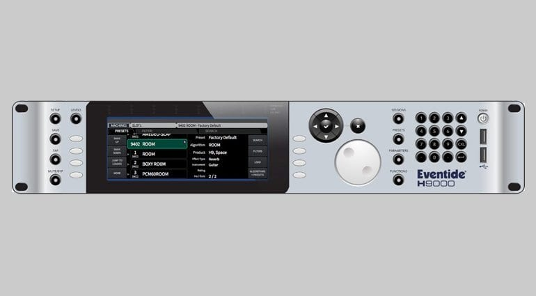 Eventide H9000 - Hardware Front Panel